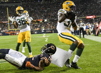 Packers Bears Snoozefest Opener